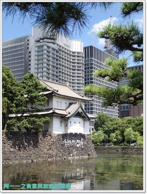 日本東京旅遊自助皇居外苑二重橋櫻田門和田倉噴水公園image035