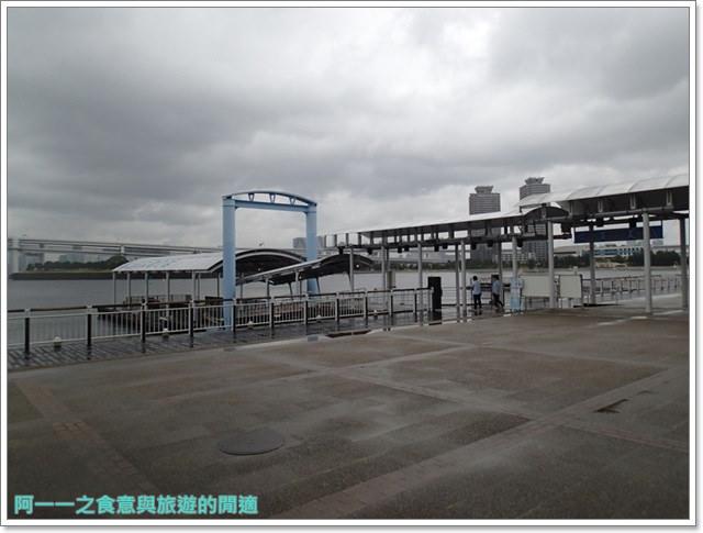 東京景點御台場海濱公園自由女神像彩虹橋水上巴士image020