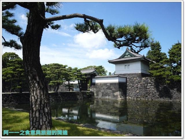 日本東京旅遊自助皇居外苑二重橋櫻田門和田倉噴水公園image032