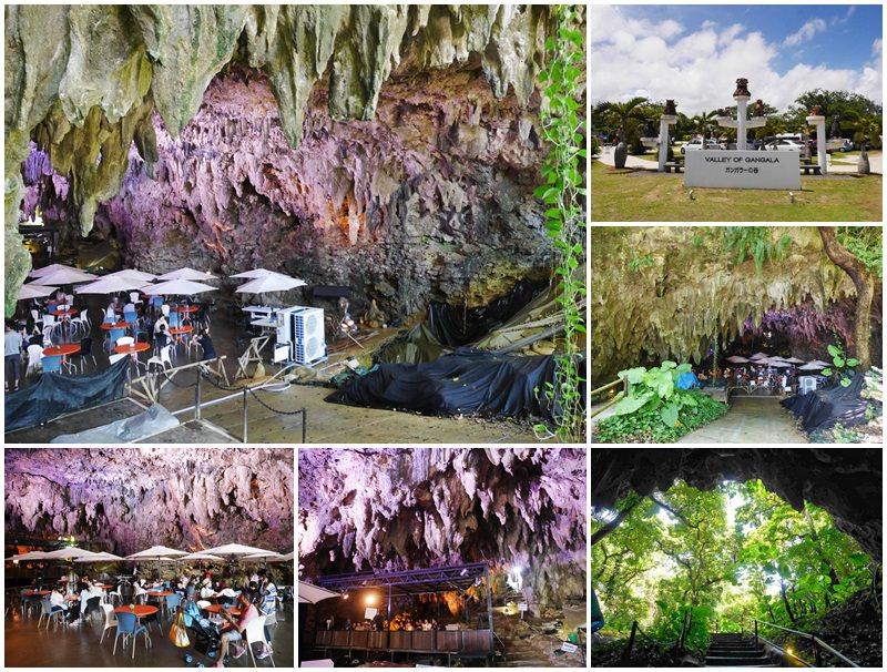 沖繩南部景點 Gangala之谷/ガンガラーの谷 鐘乳石洞窟咖啡館~港川人的家,山林秘境神祕洞穴