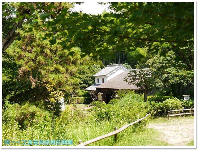 大阪親子景點.日本民家集落博物館.服步綠地.古蹟.老屋image057