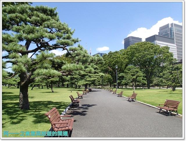 日本東京旅遊自助皇居外苑二重橋櫻田門和田倉噴水公園image042