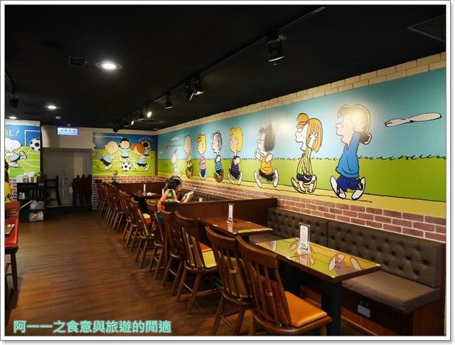 新竹美食.史努比.大遠百.查理布朗咖啡館.早午餐.聚餐image014