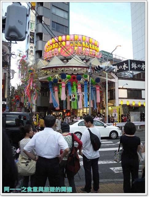 東京祭典阿佐ヶ谷七夕祭り花燈阿佐谷小吃image008