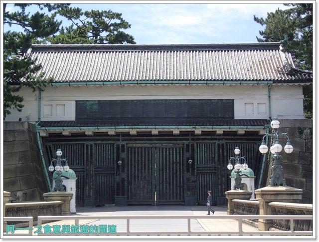 日本東京旅遊自助皇居外苑二重橋櫻田門和田倉噴水公園image030