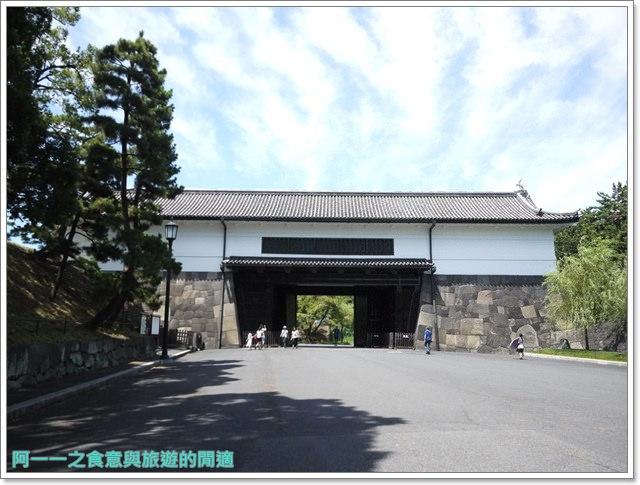 日本東京旅遊自助皇居外苑二重橋櫻田門和田倉噴水公園image017