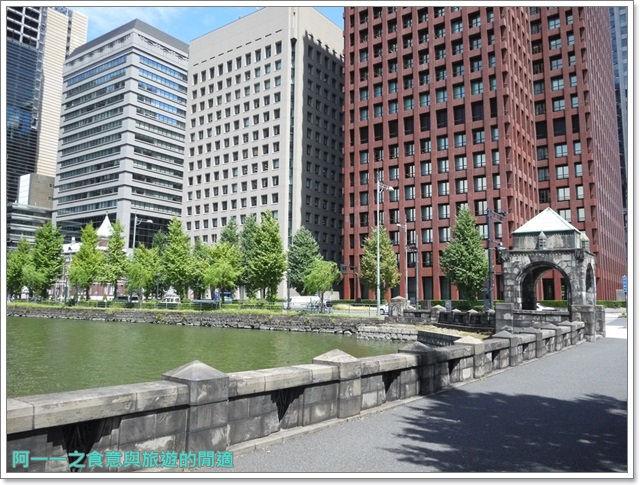 日本東京旅遊自助皇居外苑二重橋櫻田門和田倉噴水公園image058