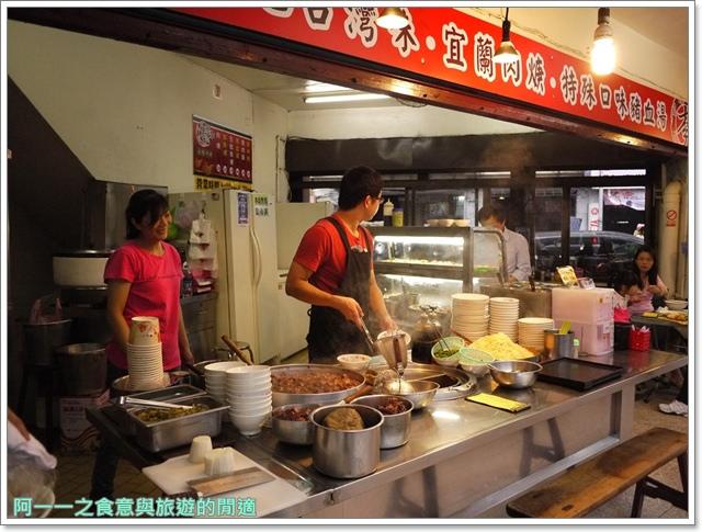 西門町美食李記宜蘭肉焿特殊口味豬血湯image009