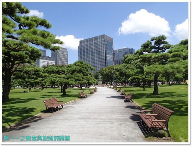 日本東京旅遊自助皇居外苑二重橋櫻田門和田倉噴水公園image041