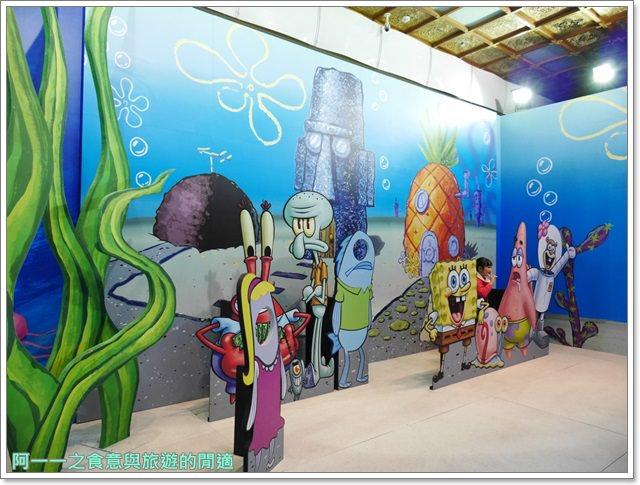 捷運中正紀念堂景點櫻花海綿寶寶暢遊比奇堡特展image047