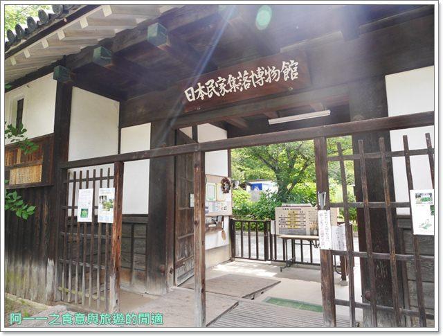 大阪親子景點.日本民家集落博物館.服步綠地.古蹟.老屋image027