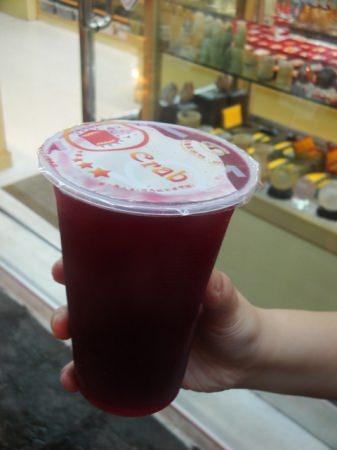 在澎湖「正港檸檬汁」喝仙人掌汁