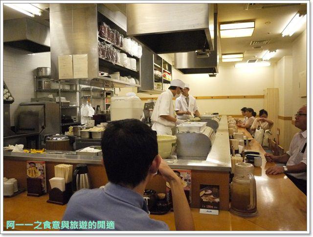 日本自助旅遊東京新橋美食天丼あきばimage005