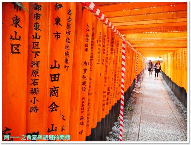 伏見稻荷大社.京都神社.千本鳥居.日本關西自助旅遊image033