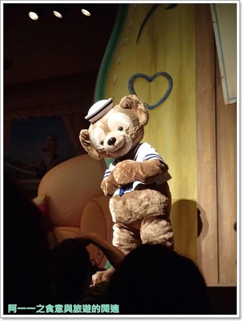 東京迪士尼海洋美食duffy達菲熊午餐秀gelatoniimage056