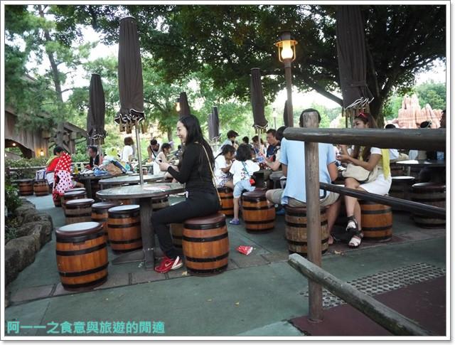 東京迪士尼樂園美食午餐秀煙燻火雞腿波里尼西亞草壇餐廳image048