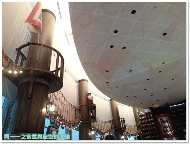 日本東京台場美食海賊王航海王baratie香吉士海上餐廳image008