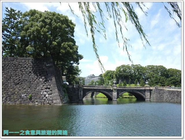 日本東京旅遊自助皇居外苑二重橋櫻田門和田倉噴水公園image024