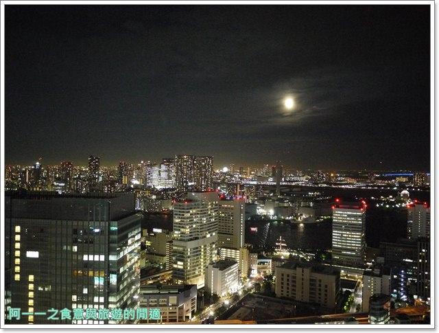 東京景點夜景世界貿易大樓40樓瞭望台seasidetop東京鐵塔image017