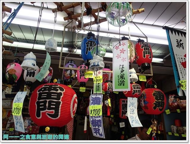 日本東京自助旅遊淺草雷門仲見世街image045