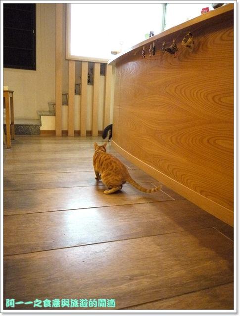 台中貓餐廳立體貓拉花貓旅行咖啡輕食館image057