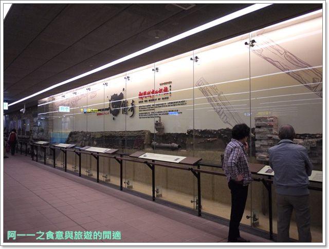 捷運松山線北門站台北博物館古蹟清代遺跡image008