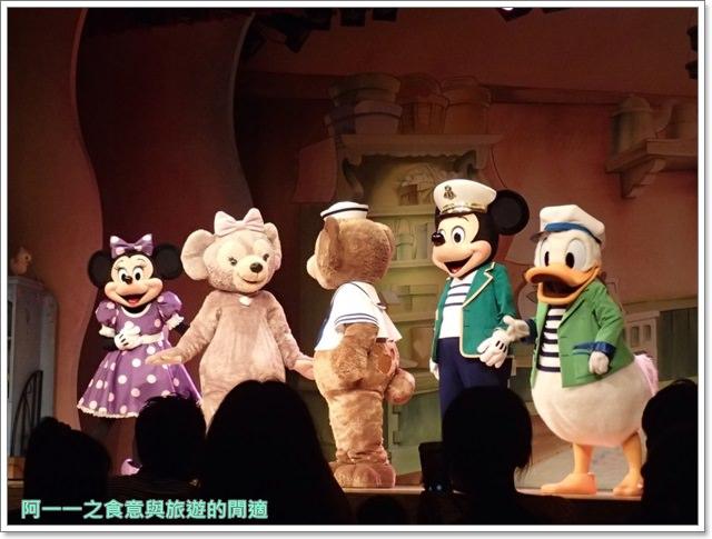東京迪士尼海洋美食duffy達菲熊午餐秀gelatoniimage055