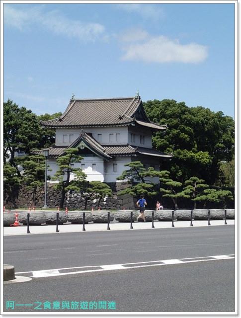 日本東京旅遊自助皇居外苑二重橋櫻田門和田倉噴水公園image040