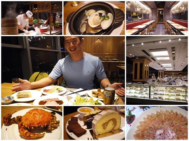 捷運世貿台北101美食饗食天堂吃到飽buffet海鮮螃蟹page