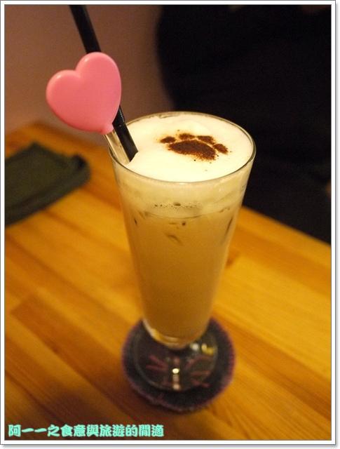 台中貓餐廳立體貓拉花貓旅行咖啡輕食館image049