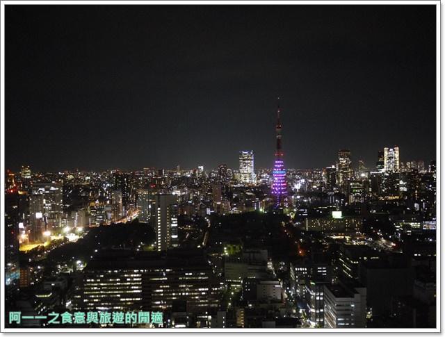 東京景點夜景世界貿易大樓40樓瞭望台seasidetop東京鐵塔image029