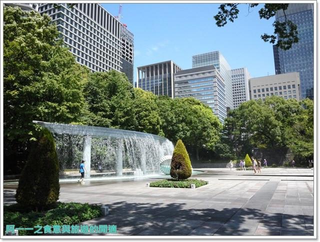 日本東京旅遊自助皇居外苑二重橋櫻田門和田倉噴水公園image056