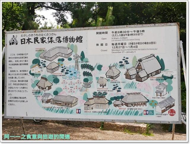 大阪親子景點.日本民家集落博物館.服步綠地.古蹟.老屋image024