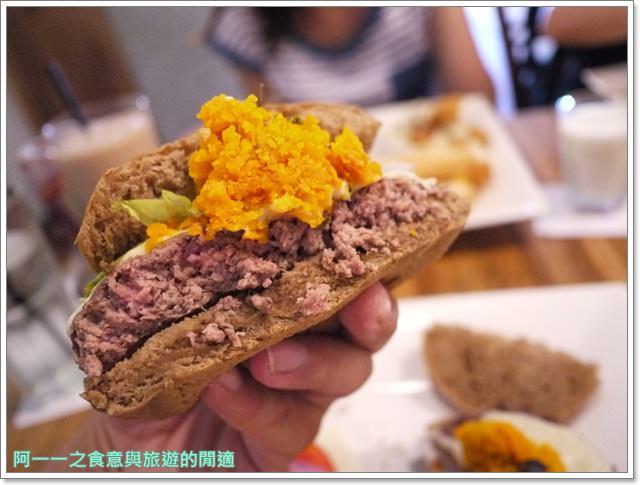 新北新店捷運大坪林站美食漢堡早午餐框框美式餐廳image030