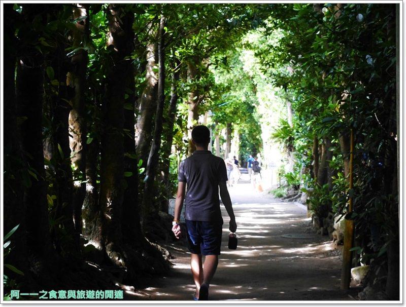備瀨福木林道.沖繩景點.祕境.美麗海水族館image015