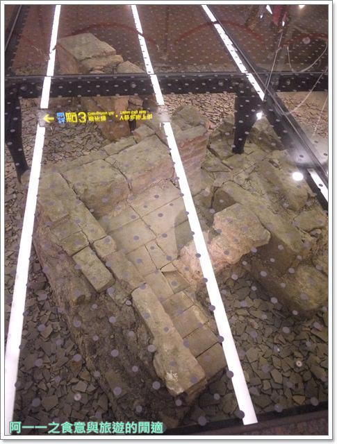 捷運松山線北門站台北博物館古蹟清代遺跡image021