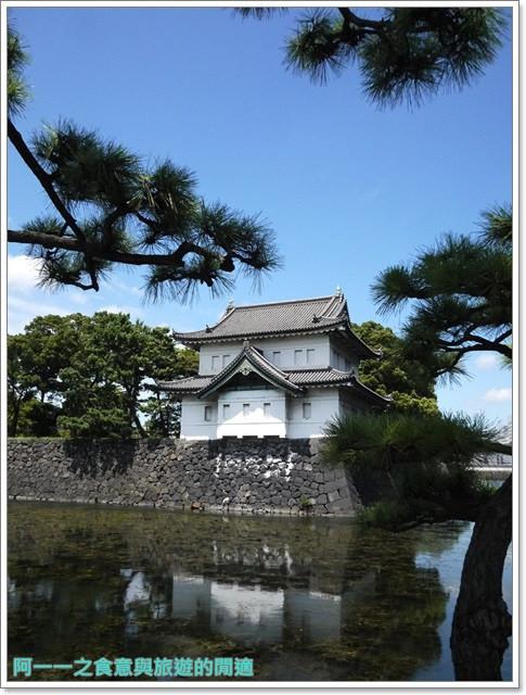 日本東京旅遊自助皇居外苑二重橋櫻田門和田倉噴水公園image037