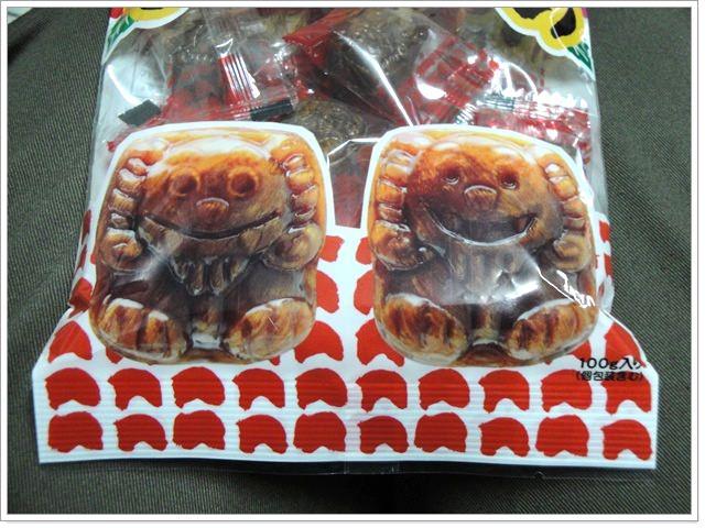 來自日本琉球的伴手禮~沖繩紅芋和果子&風獅爺黑糖糖果