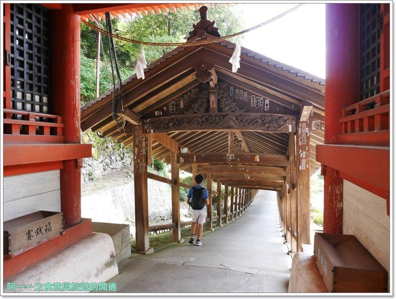 日本岡山旅遊.吉備津神社.桃太郎.迴廊.image055
