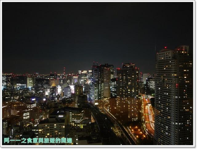 東京景點夜景世界貿易大樓40樓瞭望台seasidetop東京鐵塔image020
