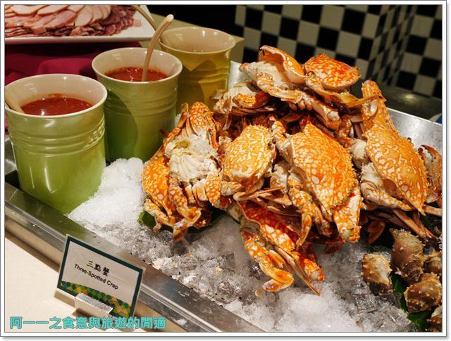 台北車站美食凱撒大飯店checkers自助餐廳吃到飽螃蟹馬卡龍image023