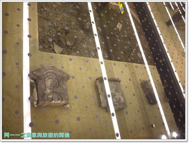 捷運松山線北門站台北博物館古蹟清代遺跡image029
