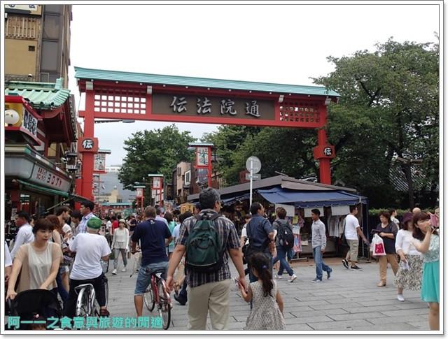 日本東京自助旅遊淺草雷門仲見世街image048