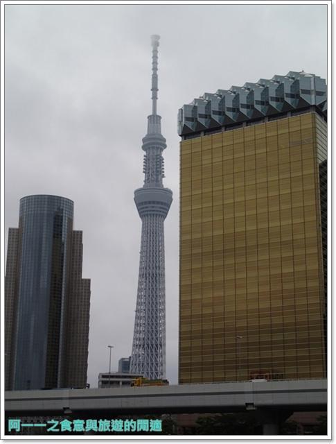 晴空塔天空樹日本東京自助旅遊淺草吾妻橋image004