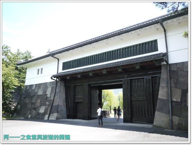 日本東京旅遊自助皇居外苑二重橋櫻田門和田倉噴水公園image011