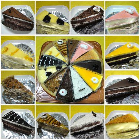 [試吃]幸福咬一口 8吋繽紛手工蛋糕~一次品嚐12種不同口味