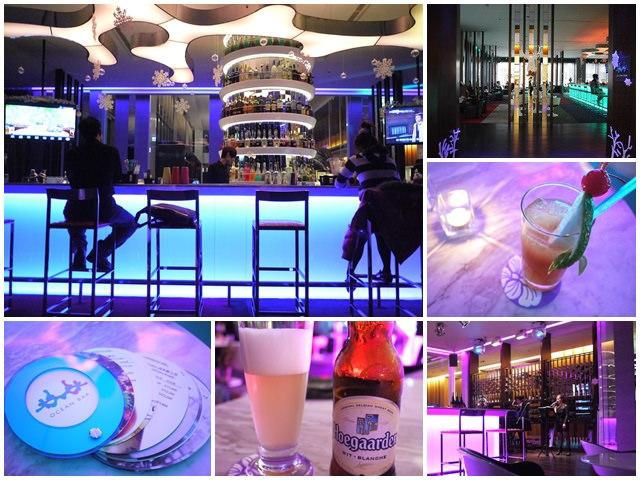 新竹 芙洛麗大飯店 Ocean Bar酒吧(食尚玩家)~爵士歌聲下慵懶啜飲