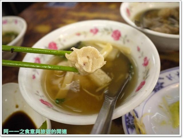 西門町美食李記宜蘭肉焿特殊口味豬血湯image055