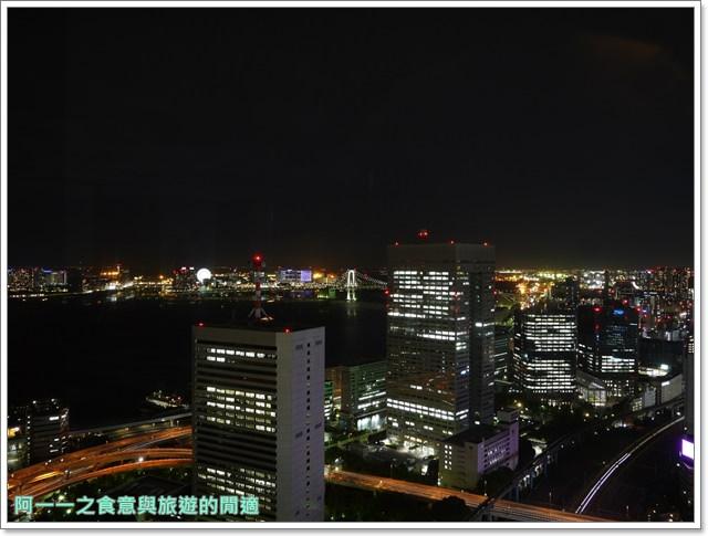 東京景點夜景世界貿易大樓40樓瞭望台seasidetop東京鐵塔image018