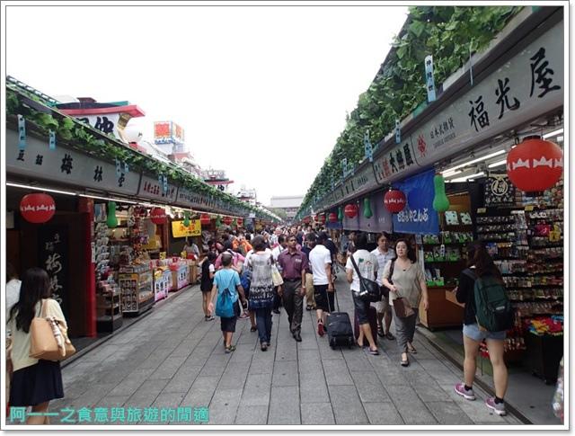 日本東京自助旅遊淺草雷門仲見世街image037